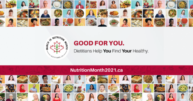 Good for You. Dietitians help you Find Your Healthy